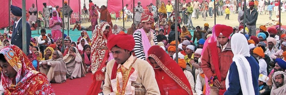 Marriages in Kirpal Sagar